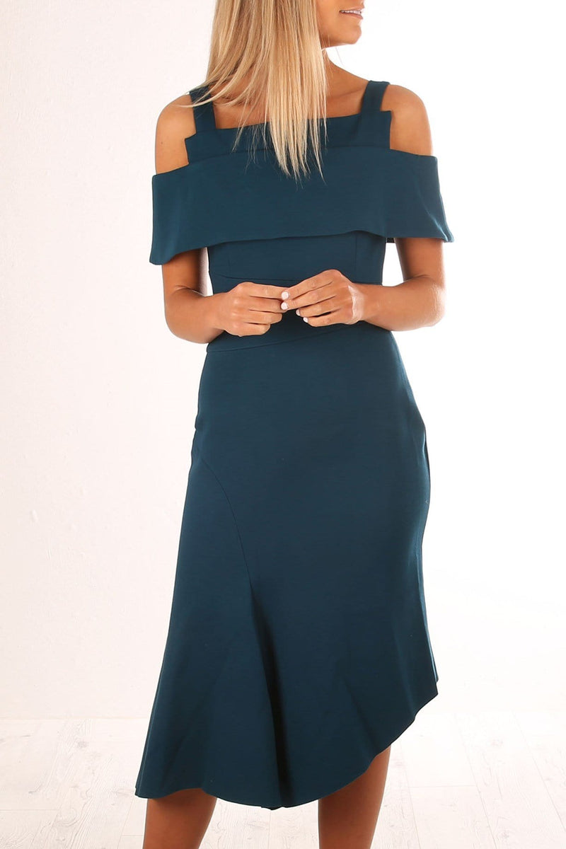 Mercure Dress Teal Elliatt - Jean Jail