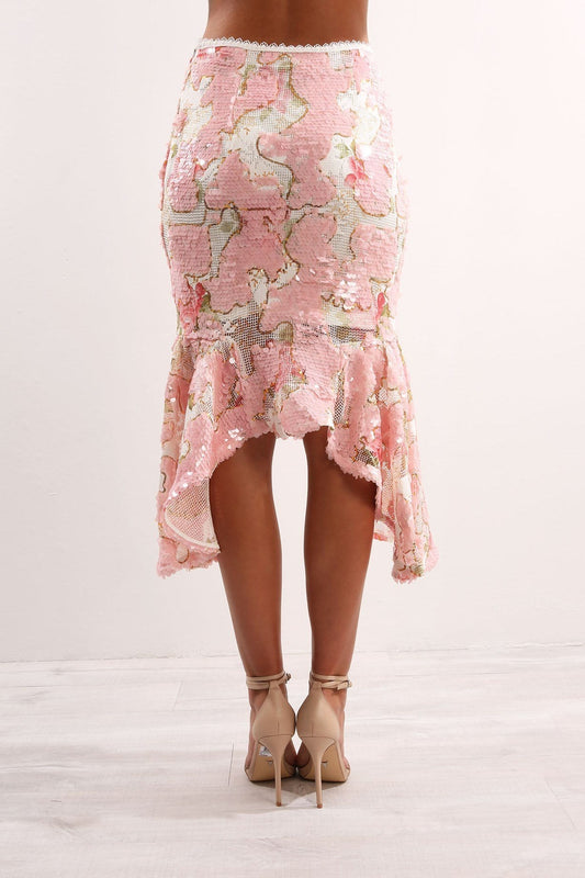 Luck Be A Lady Skirt Ballet Pink