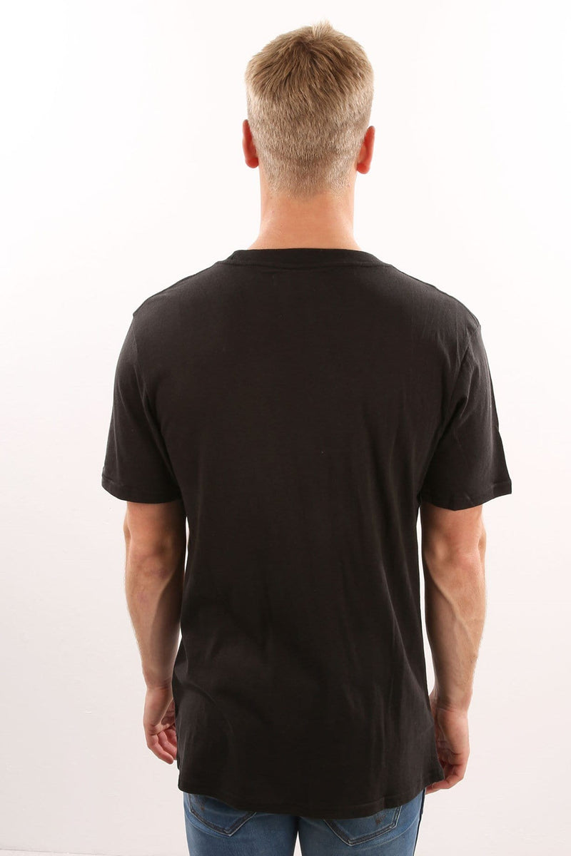 Series Tee Worn Black Assembly Label - Jean Jail