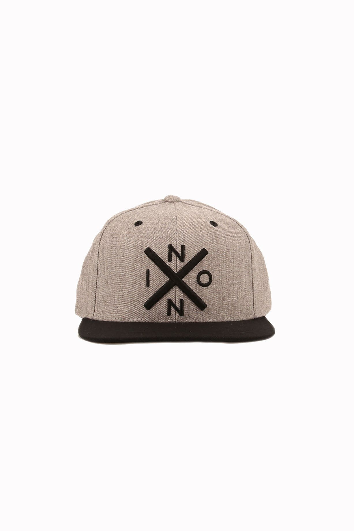Exchange Snapback Heather Grey Black