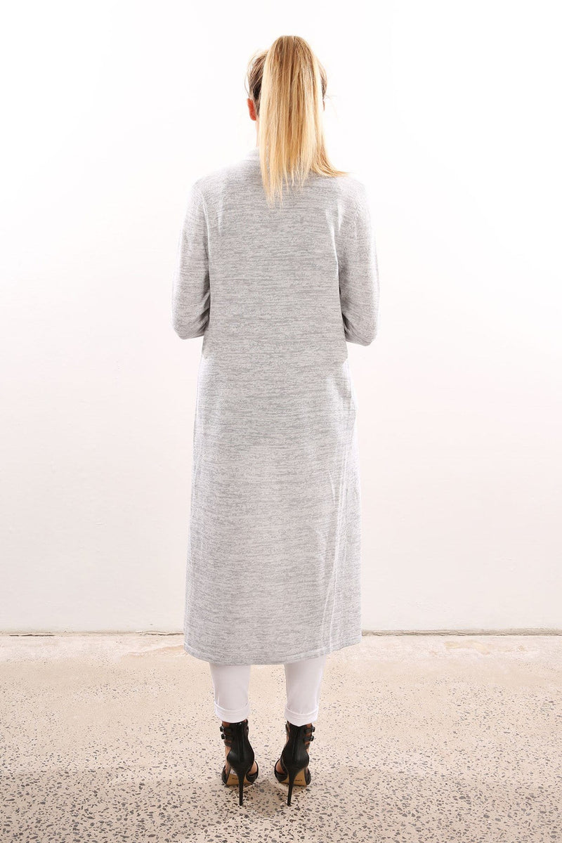 Horoscopes Knit Cardigan Grey Marle The Fifth Label - Jean Jail