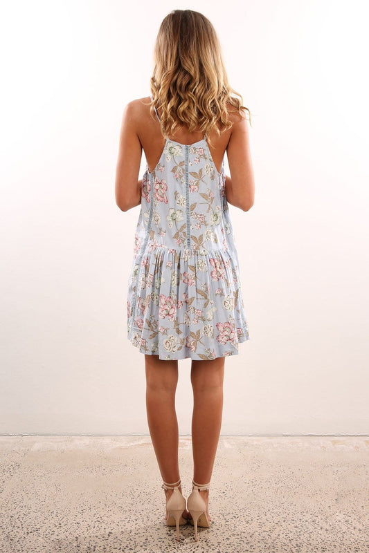 Madison Dress Sky Blue