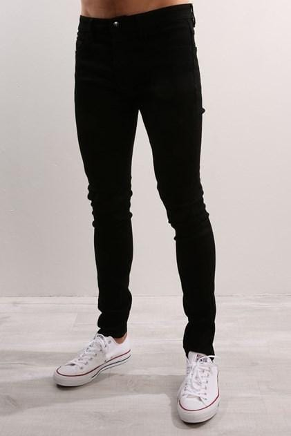 Lee - L0 Skinny Short Prime Black Lee - Jean Jail