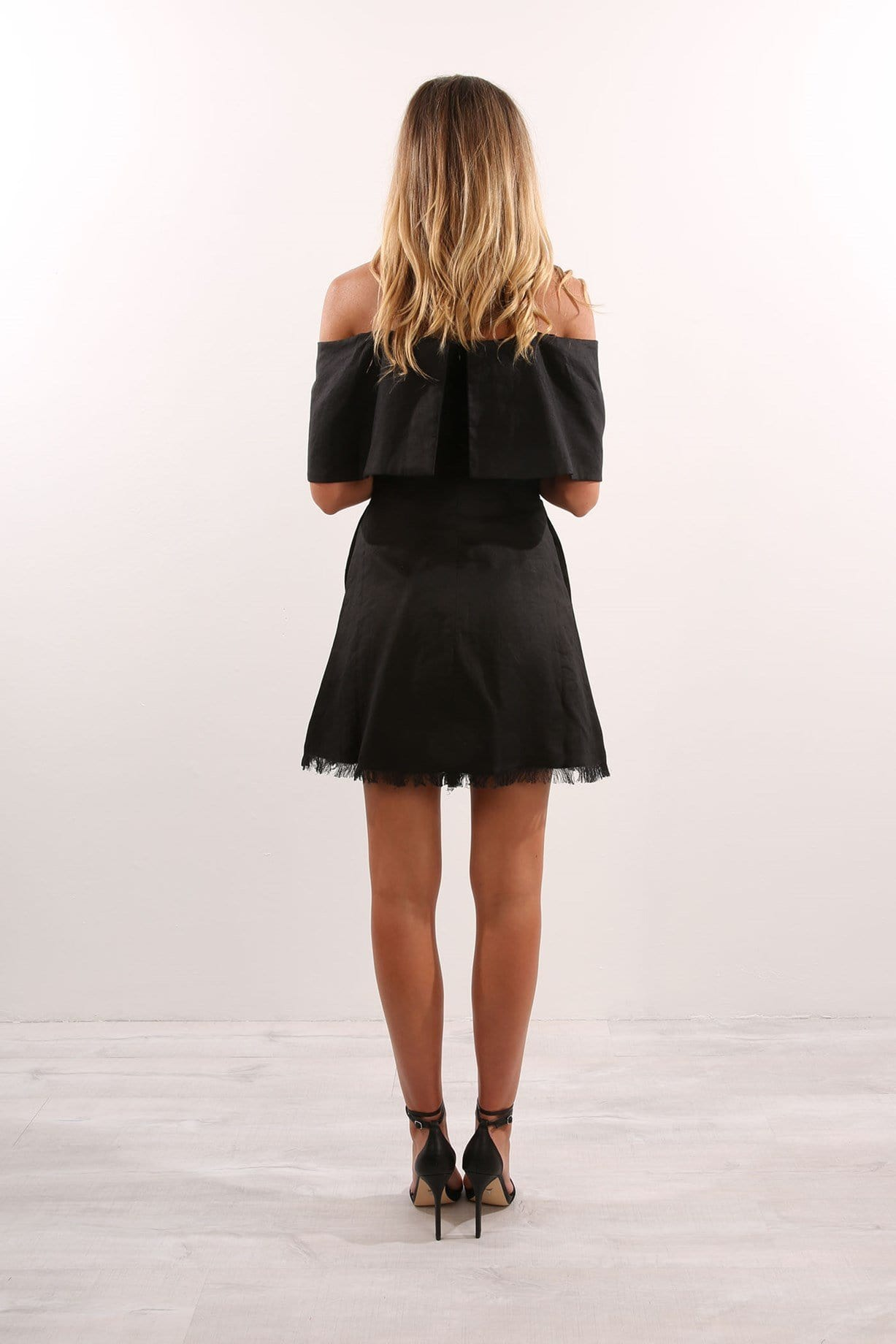 Backline Dress Black