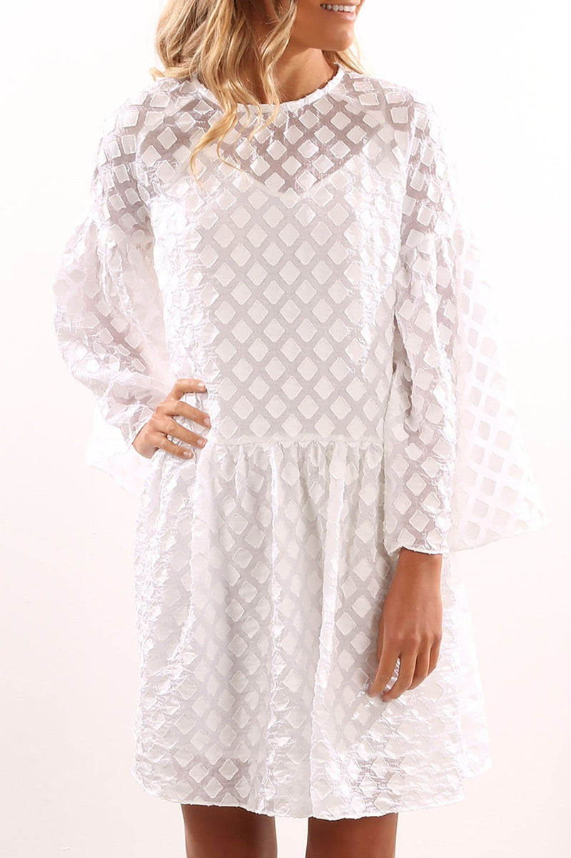 Isla Dress Ivory Imonni - Jean Jail