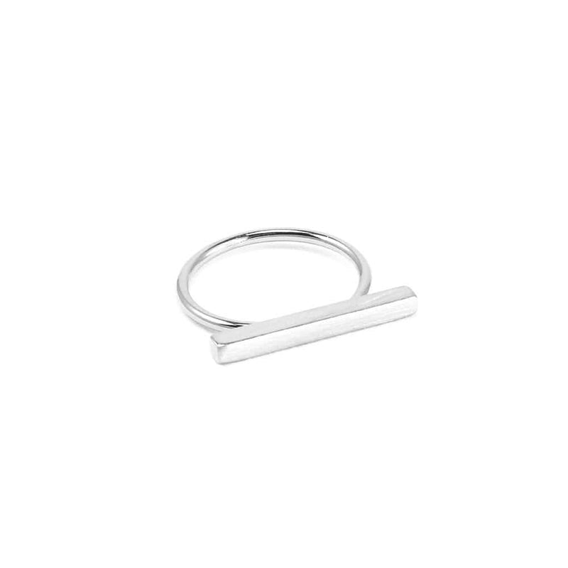 Bar Ring Silver Jolie & Deen - Jean Jail