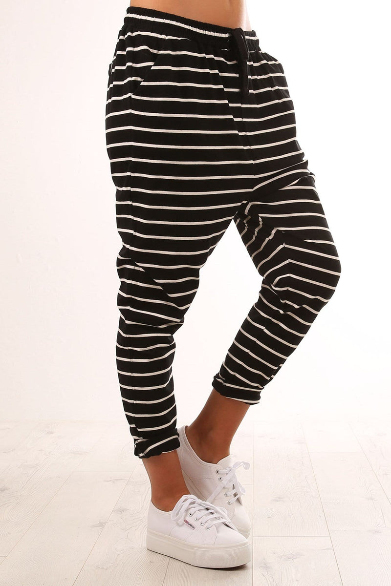 cd54e391c7a Jade Pant Black White Stripe - Jean Jail