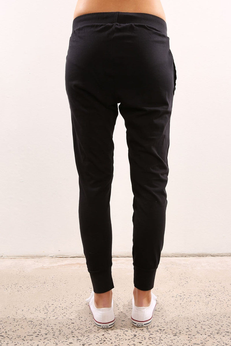 Lowdown Trackpant Black Silent Theory - Jean Jail