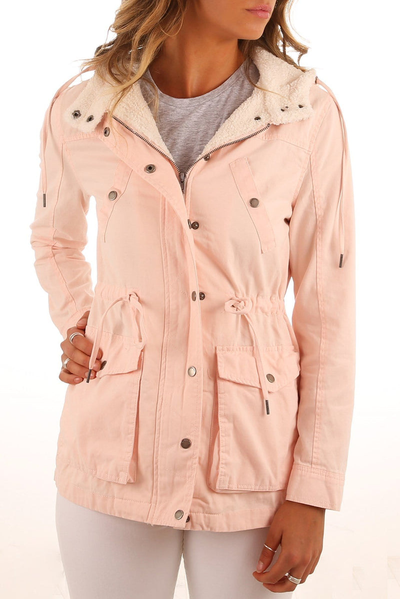 Eddy Parka Pink All About Eve - Jean Jail
