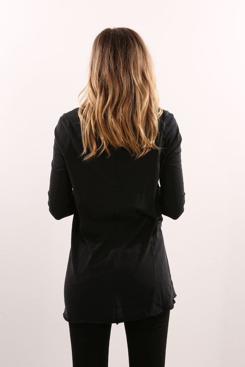 Insight Long Sleeve Top Black Silent Theory - Jean Jail
