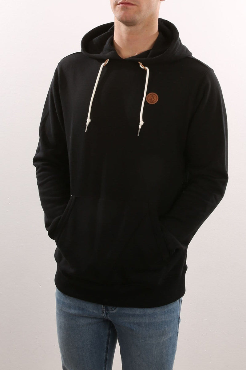 Single Stone Pullover Hoody Black Volcom - Jean Jail