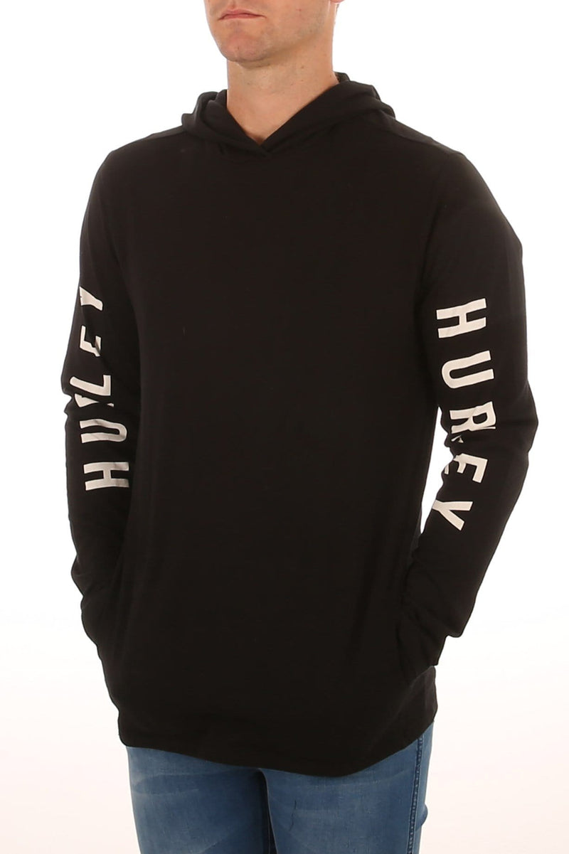 The One Long Sleeve Tee Black Hurley - Jean Jail