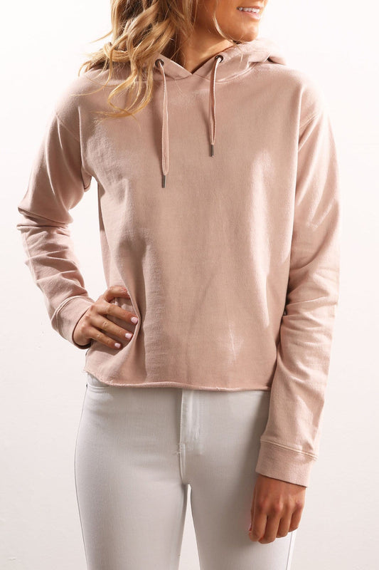 Borderline Hoody Pink