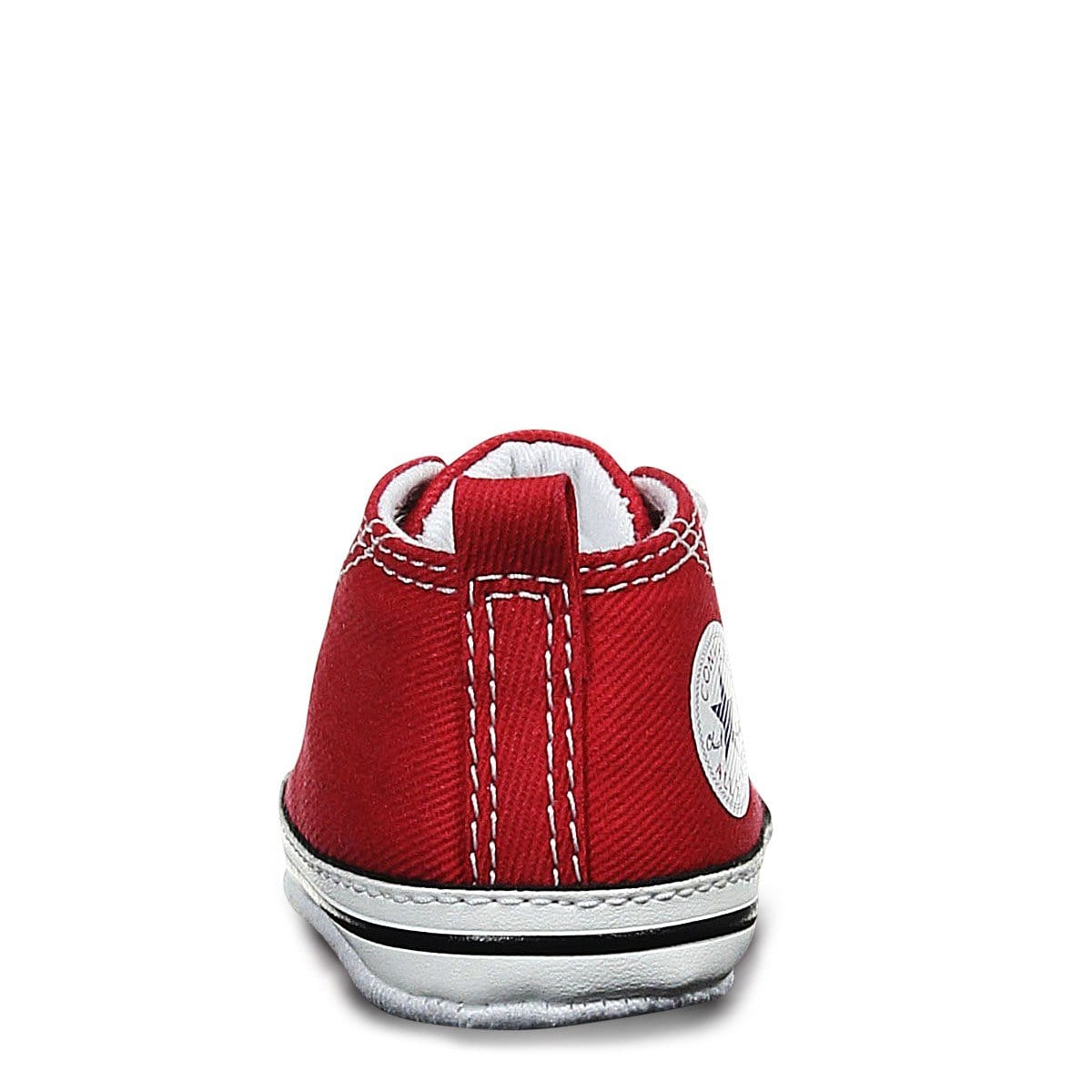 Toddler Crib CT Core Canvas Hi Red