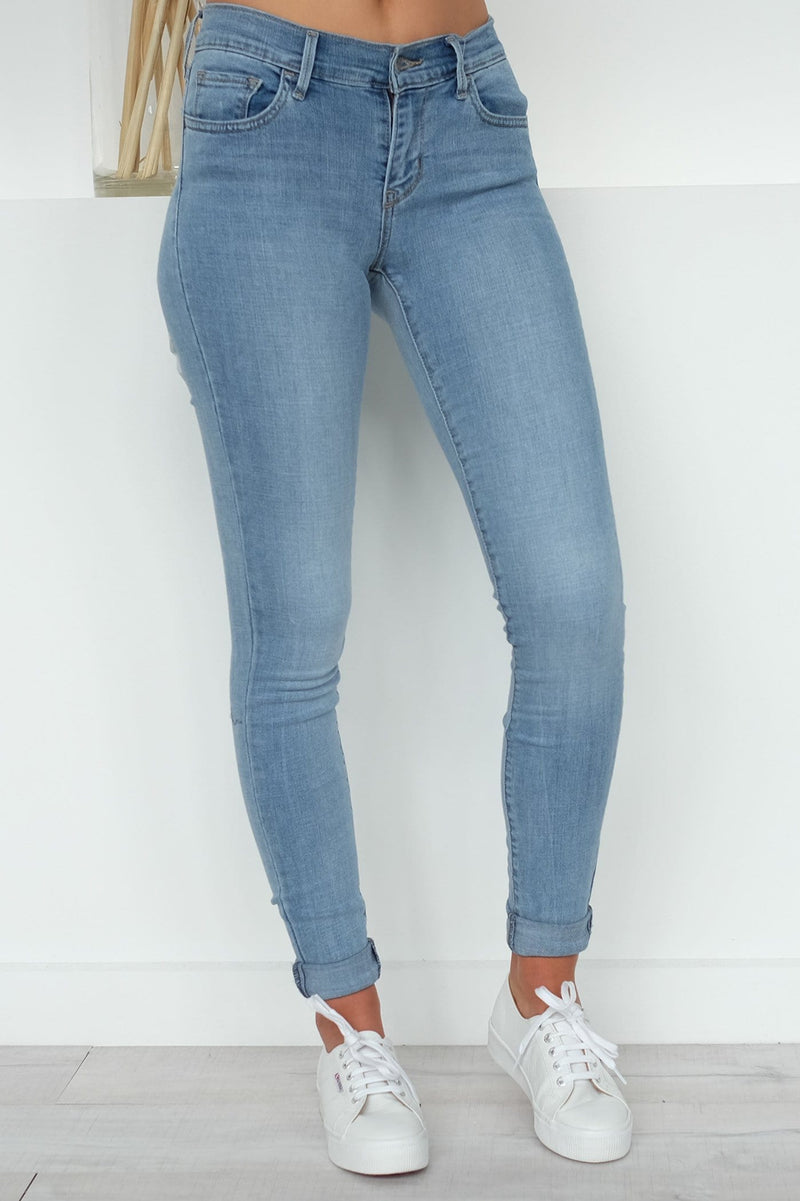 710 Super Skinny Jean Skys Limit Levis - Jean Jail