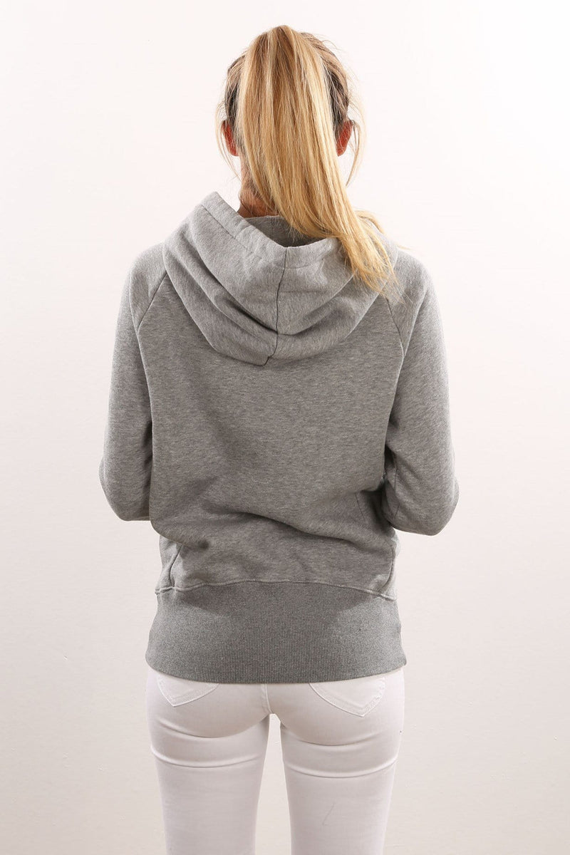 Cali Fill Pop Hoody Grey Heather Santa Cruz - Jean Jail