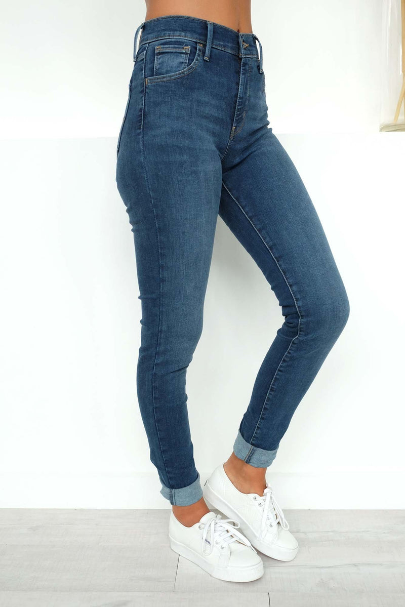 720 High Rise Super Skinny Jeans Right On Time Levis - Jean Jail
