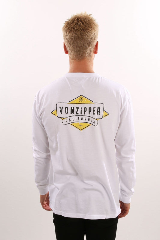 Mellow Long Sleeve Tee White