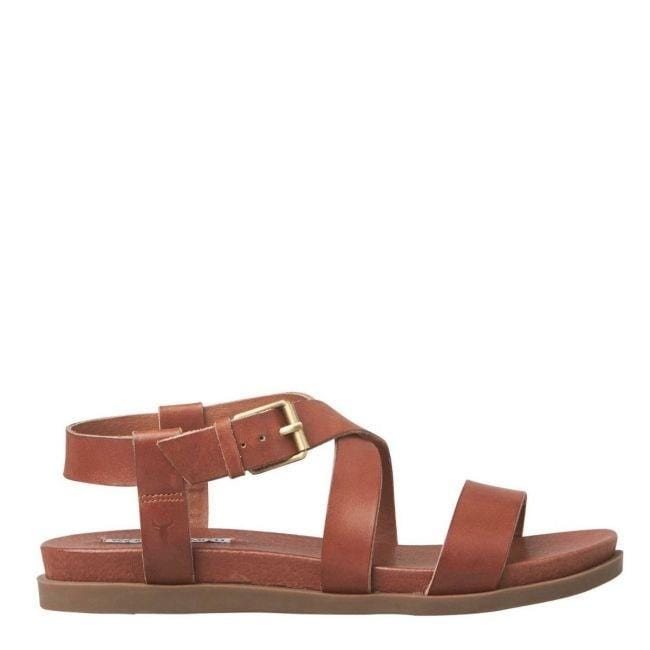Lotus Sandal Whisky Leather Windsor Smith - Jean Jail