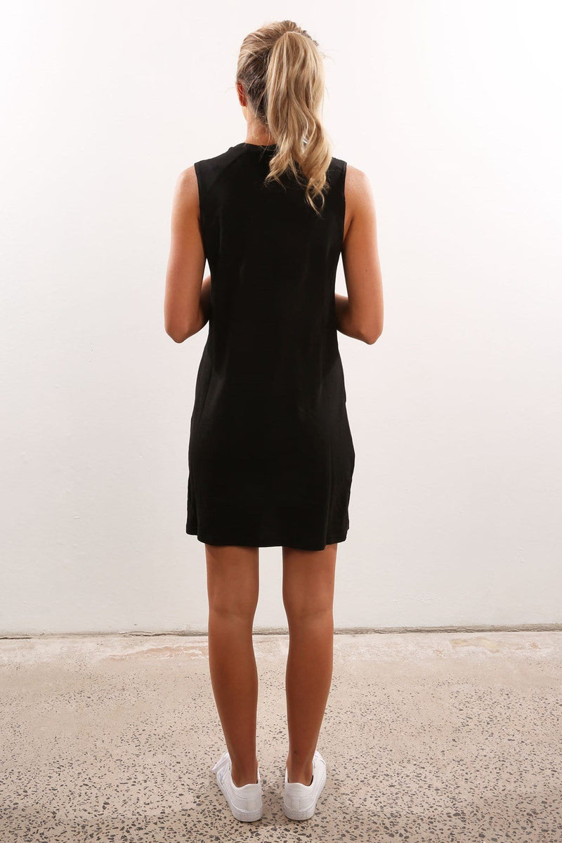 Drifted Dress Black The Fifth Label - Jean Jail