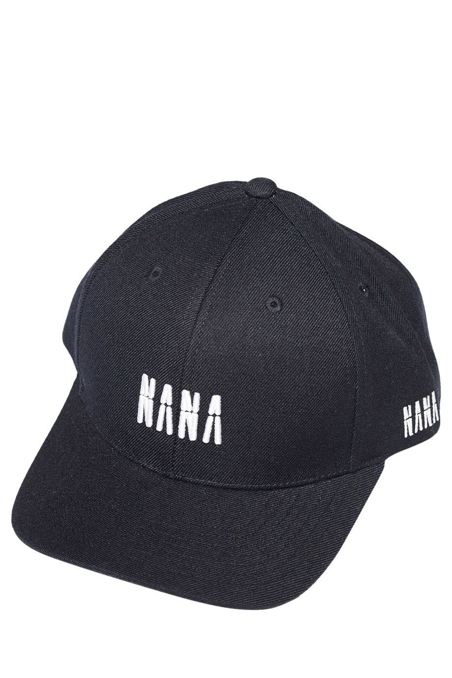 Nana Polo Cap Faded Black