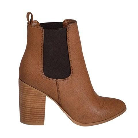 Jaida Boot Dark Tan Tumble Billini - Jean Jail