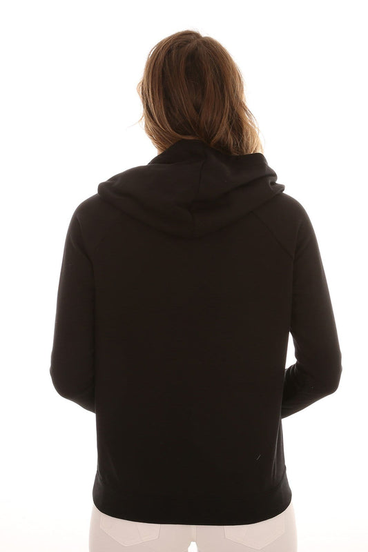 Mini Box Pop Hood Fleece Black