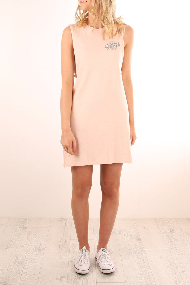Shralper Muscle Dress Pale Blush Hurley - Jean Jail