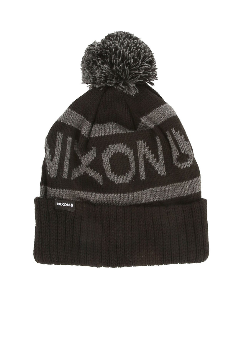 Teamster Beanie All Black Nixon - Jean Jail