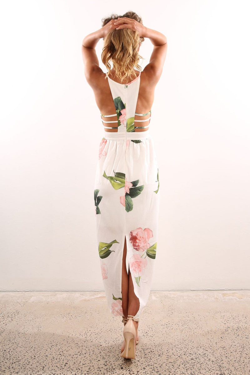 Mint Leaf Dress White Jean Jail - Jean Jail