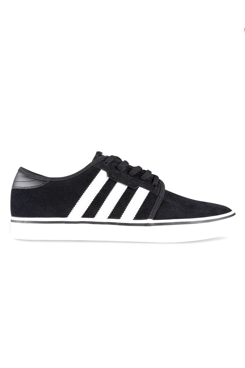 Seeley Black White Suede adidas - Jean Jail