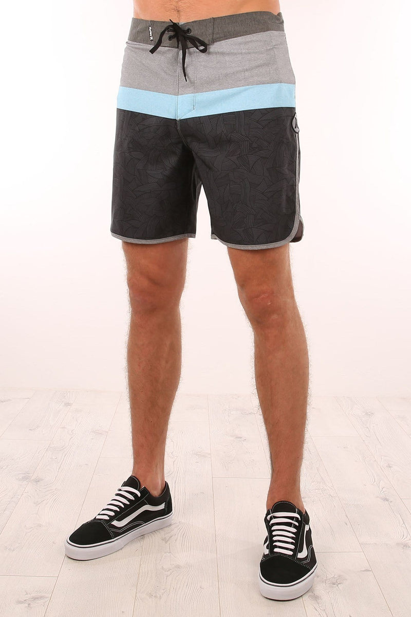 Phantom Jungle Boardshort Black Hurley - Jean Jail