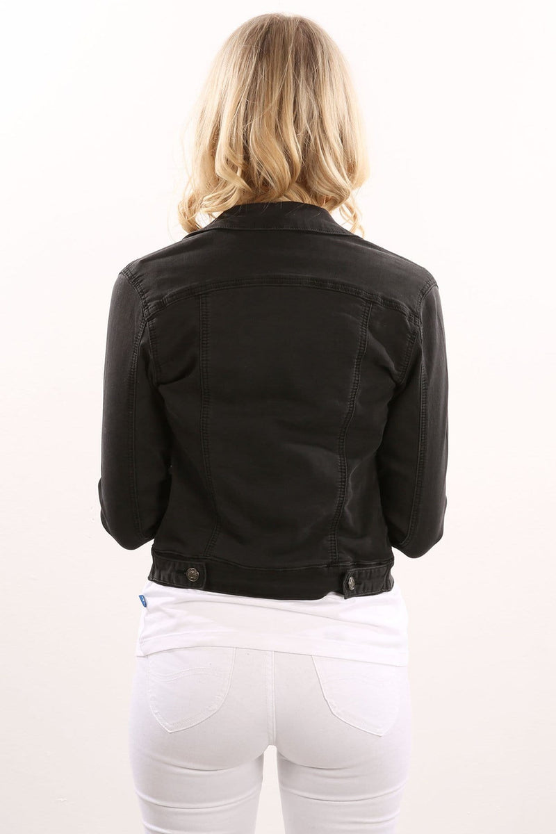 Sirens Jacket Black Jean Jail - Jean Jail