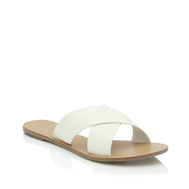 Majorca Sandal White Pebble Billini - Jean Jail