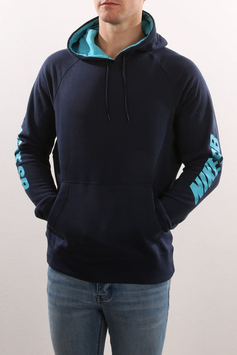 SB Icon Yarn Dye Hoody Navy Nike SB - Jean Jail