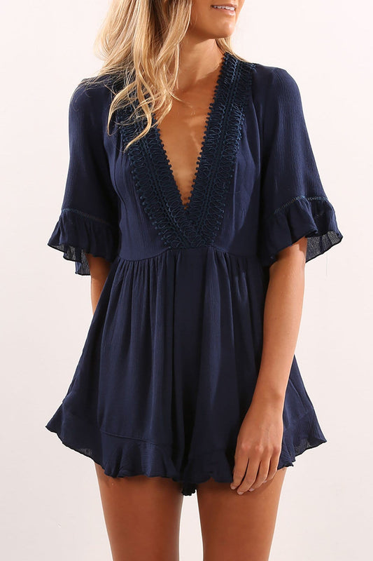 In Love Playsuit Navy