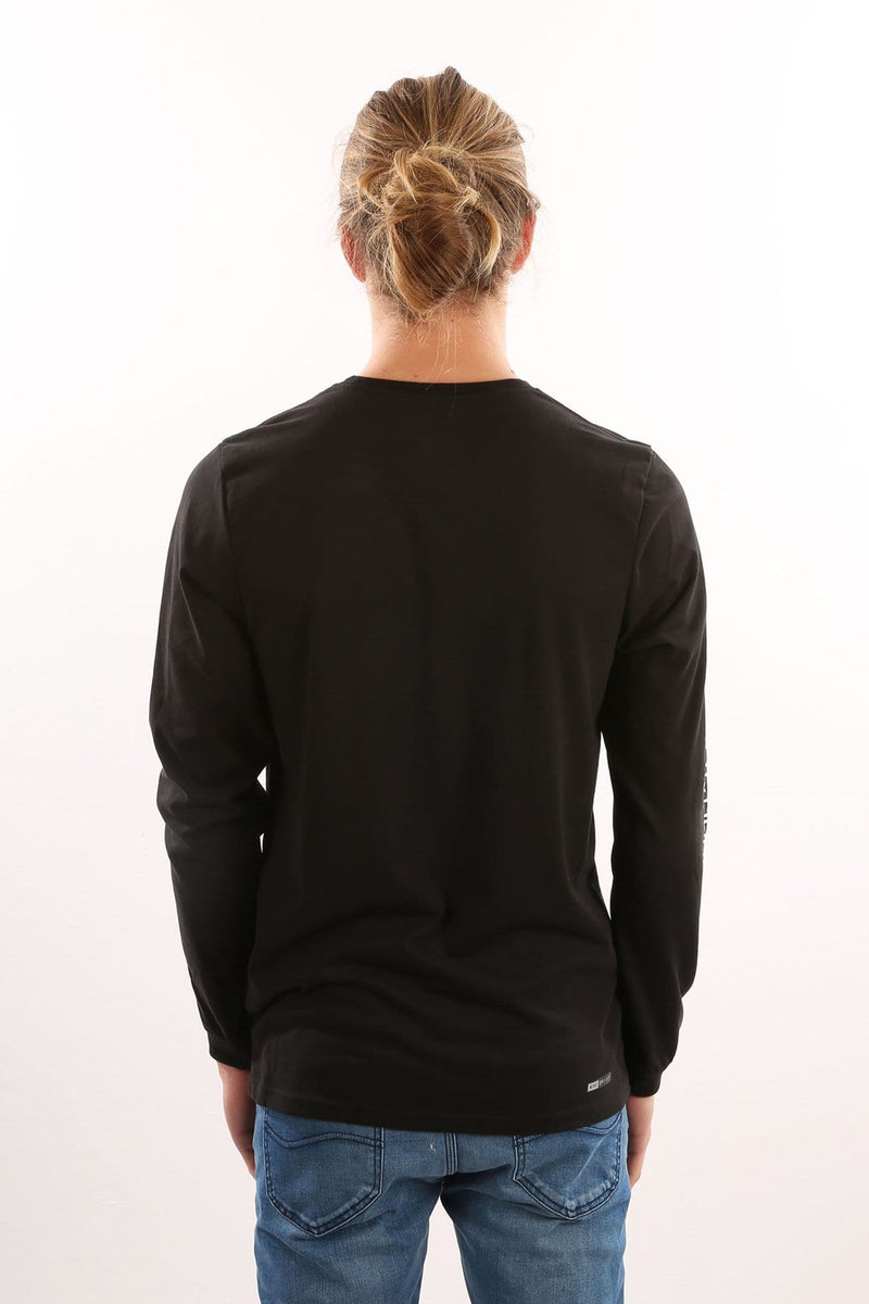 Dri-Fit Launch Long Sleeve T-Shirt Black Hurley - Jean Jail