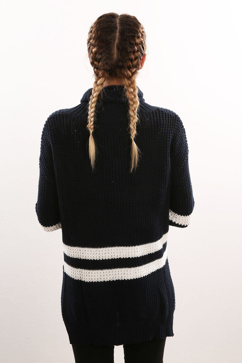 Show Us Your Stripes Knit Navy Imonni - Jean Jail