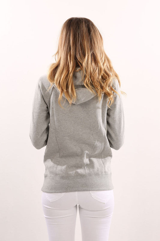 Strong Tide Hoody Heather Grey