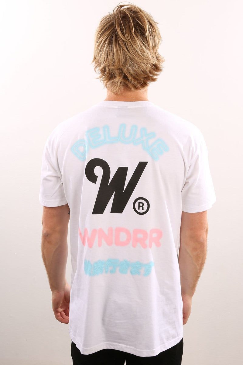 Deluxe Custom Fit Tee White WNDRR - Jean Jail