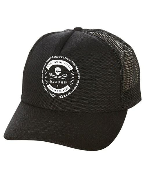 Sea Shepherd Trucker Black Kustom - Jean Jail
