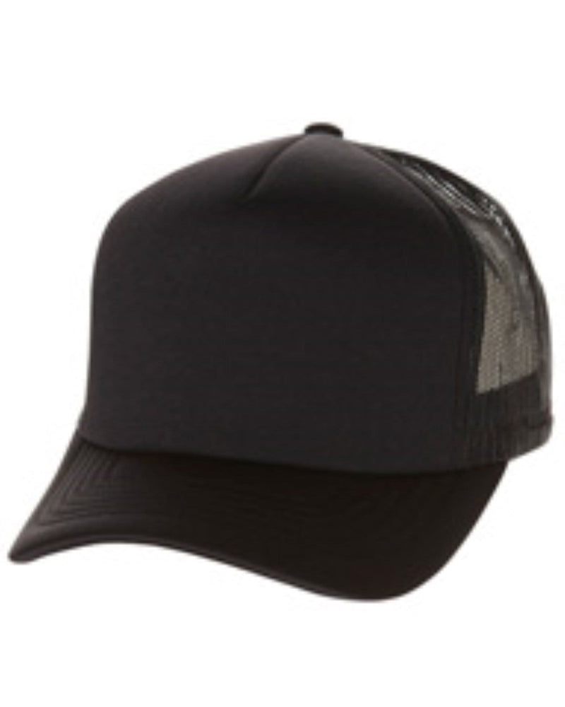 Flexfit - Hi Crown Trucker Black Flexfit - Jean Jail