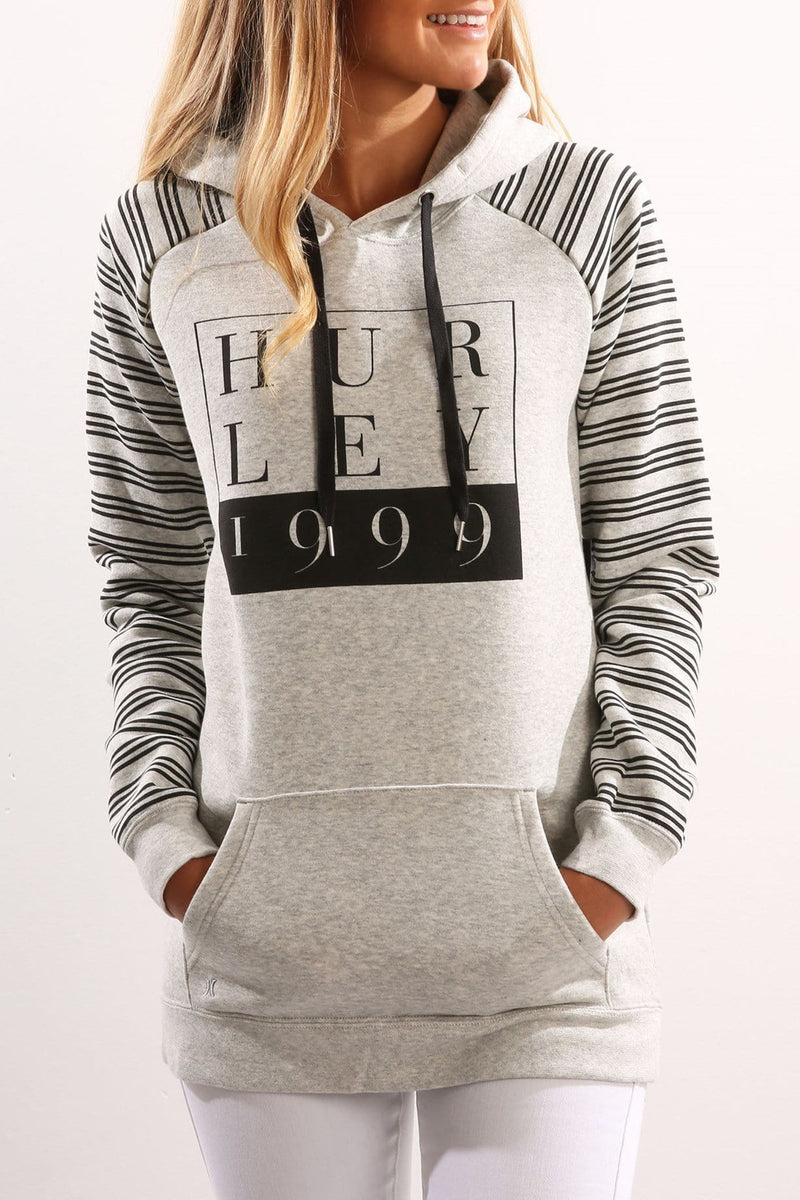 Shortcut Pop Fleece Heather Grey
