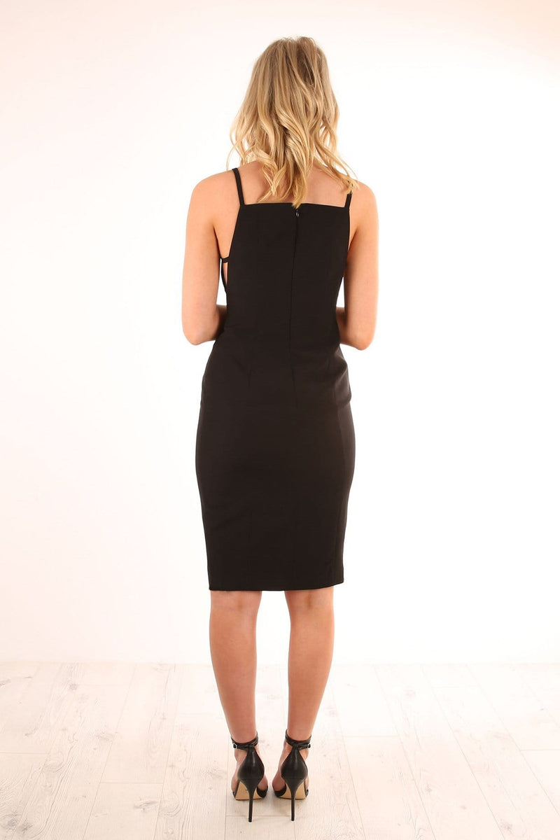 Mirror Image Dress Black Finders Keepers - Jean Jail