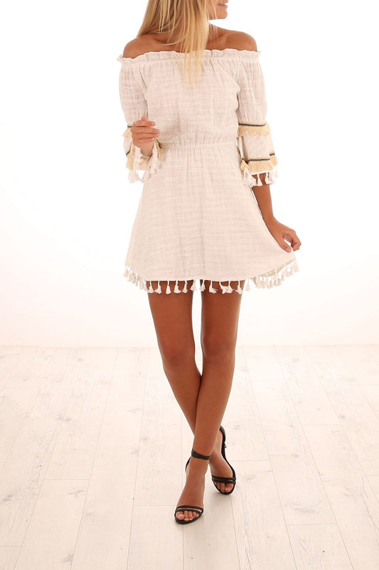 Ever After Dress White