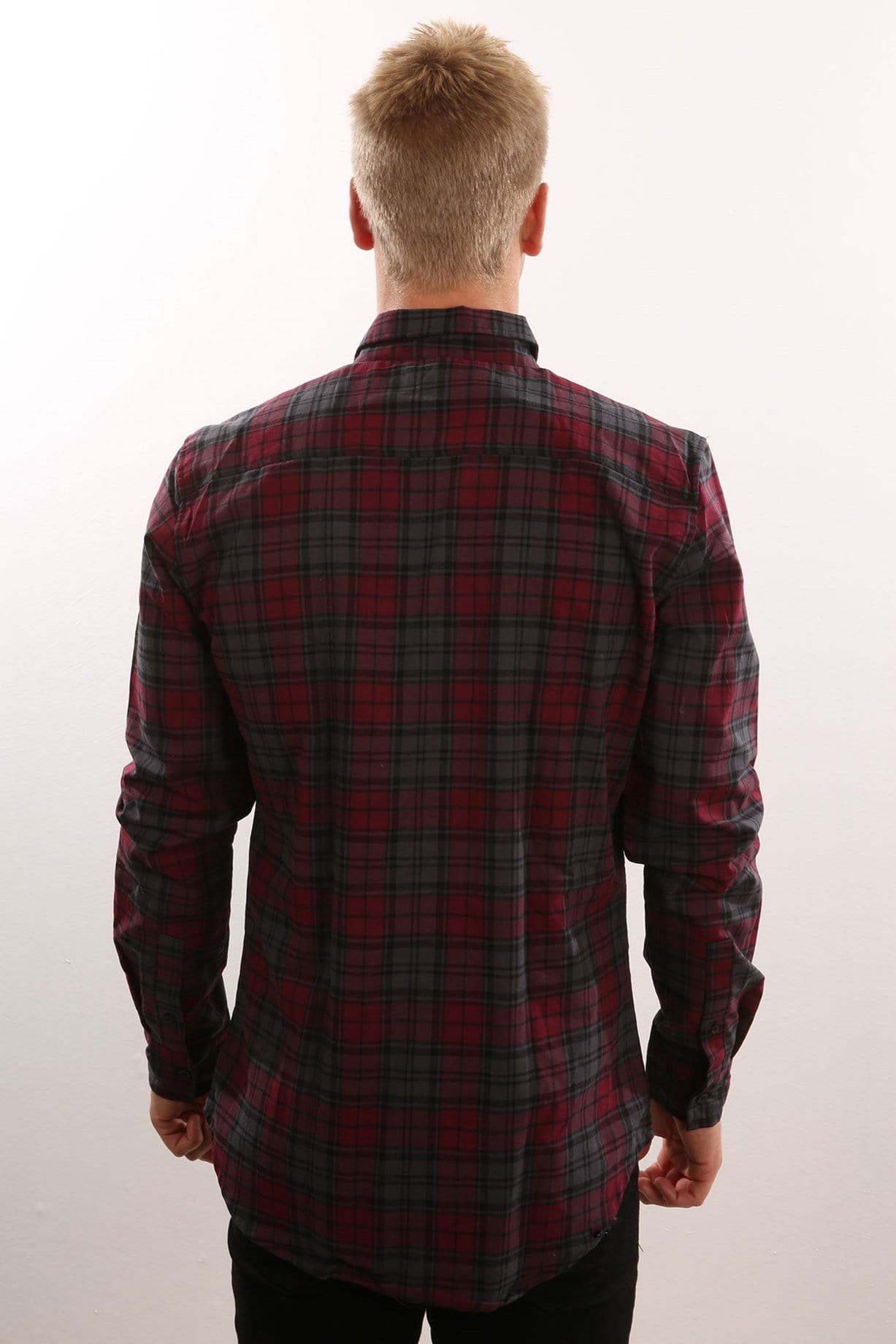 Germain Shirt Burgandy