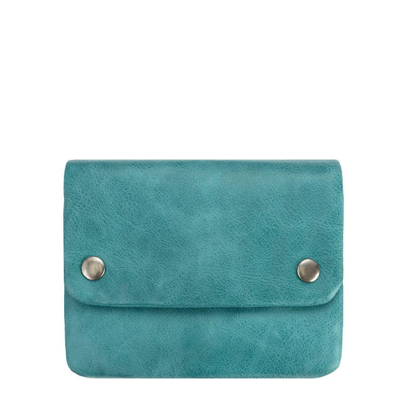 Norma Wallet Aqua Status Anxiety - Jean Jail