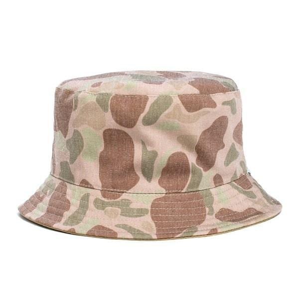 Mo Reversible Bucket Hat Camo Afends - Jean Jail