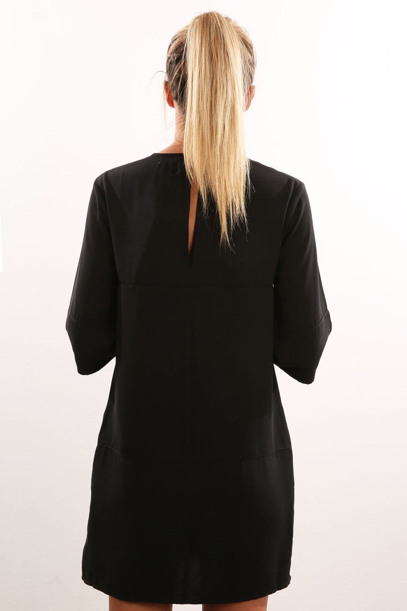 Daydreaming T-Shirt Dress Black The Fifth Label - Jean Jail
