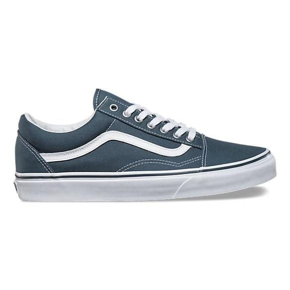 Vans - Old Skool Canvas Dark Slate/True Vans - Jean Jail